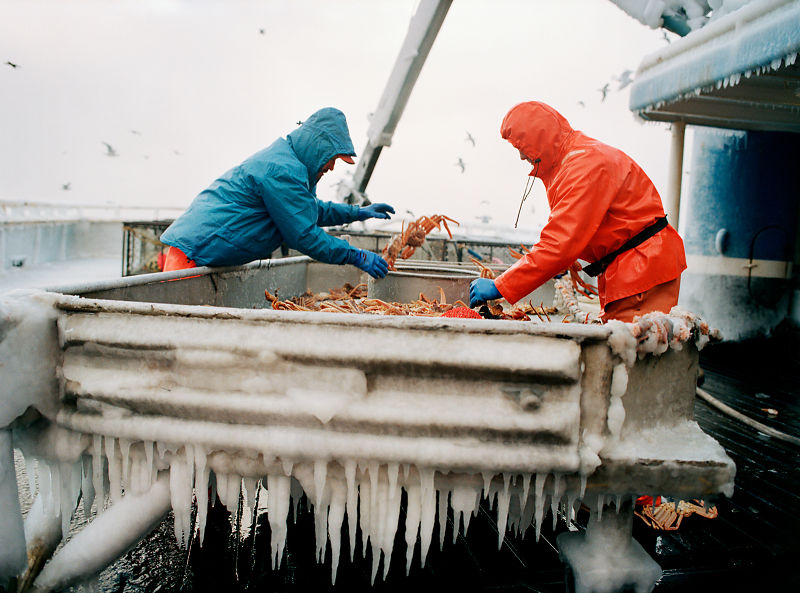 Icicle morning corey arnold photographer for Deckhand fishing jobs