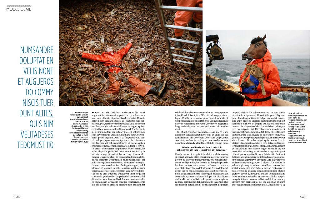 Geo Magazine (France), August 2012