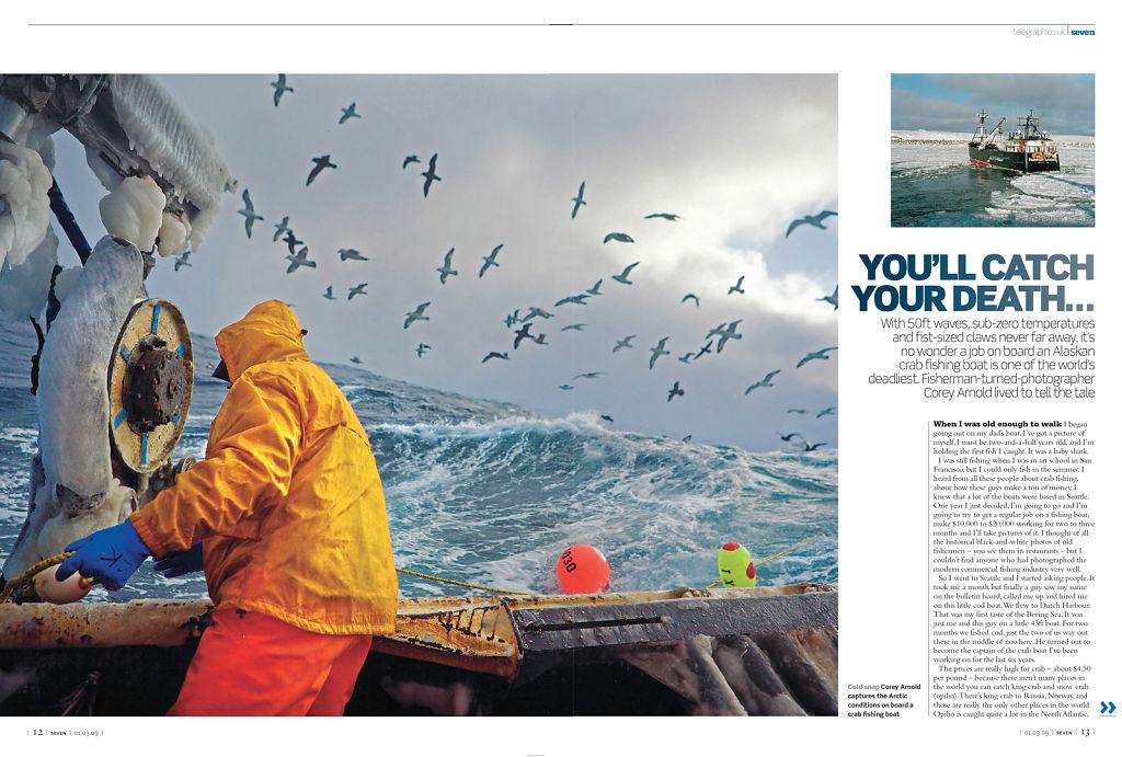 Sunday Telegraph Magazine (UK), March 1, 2009