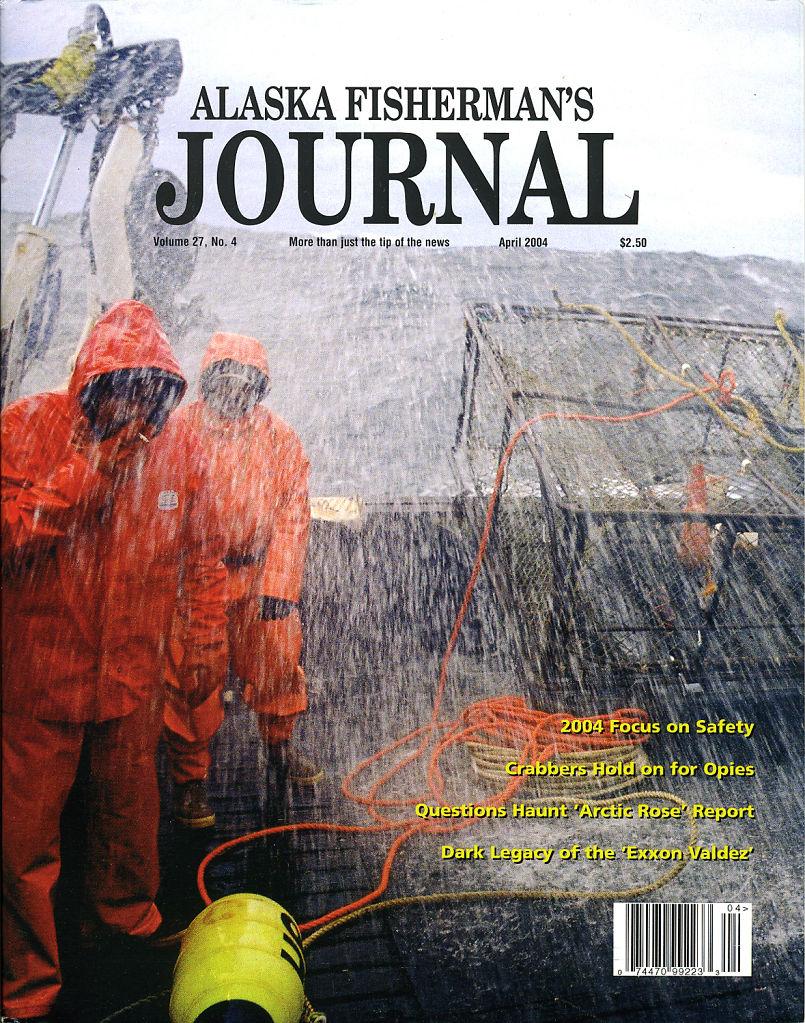 Alaska Fisherman's Journal, April 2004